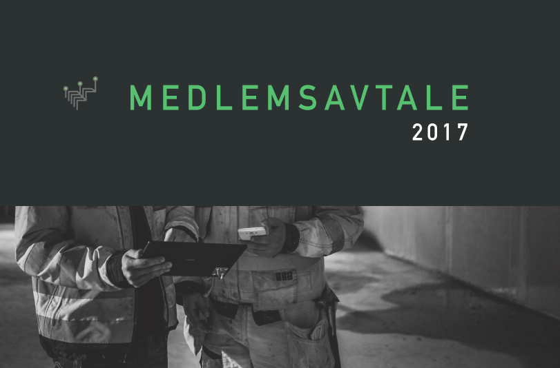 Smart Construction Cluster Medlemsavtale 2017