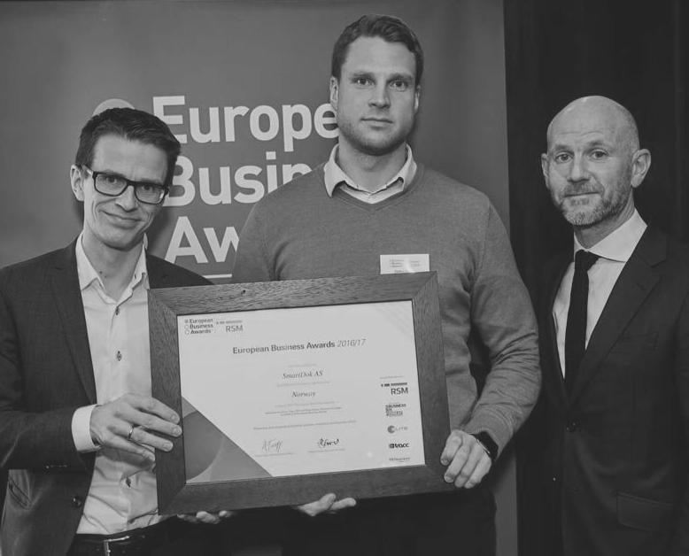 SmartDok European Business Awards Smart Construction Cluster